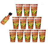 12-Pack Michelada Antojitos Mix in a 24oz Cup Ready To Use, Plus Michelada Shaker For Beer, Bloody...