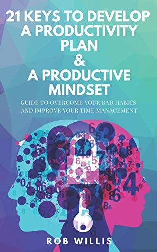 21 Keys To Develop A Productivity Plan A Productive Mindset A Guide To Overcome Your Bad Habits product image