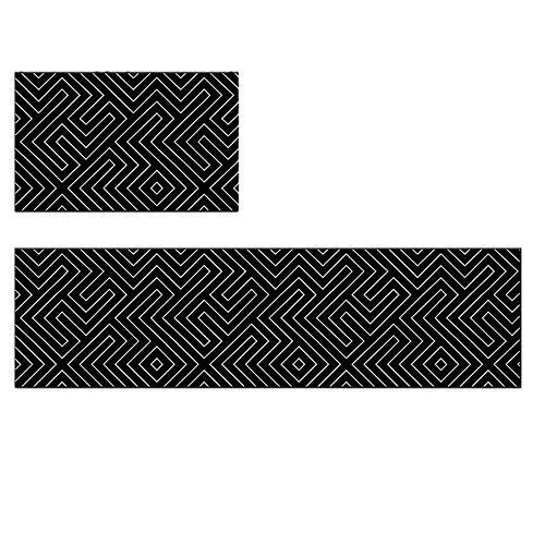 mächtig YFYJ Lange und dicke rutschfeste Türmatte TPR wasserdichte ölbeständige Teppichschnittmatte…