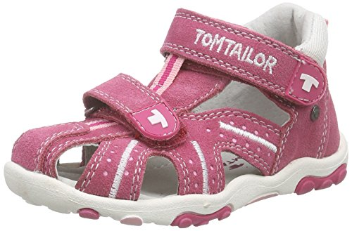 TOM TAILOR Kids Baby Mädchen Kinderschuhe Lauflernschuhe, Pink (pink-Rose), 25