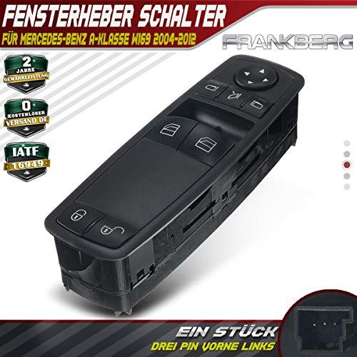 Fensterheber Schalter Schalteinheit Vorne Links für A-Klasse W169 2004-2012 1698206510