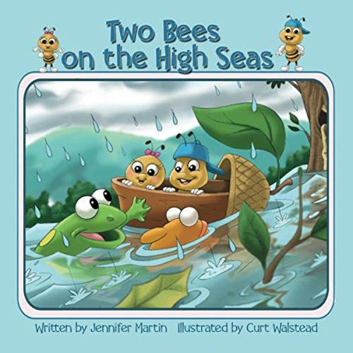 Two Bees on the High Seas audiobook cover art