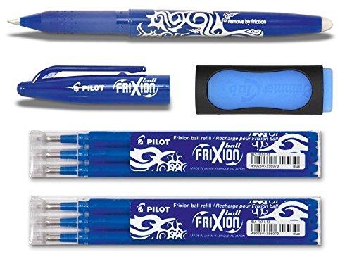 10 x PILOT Frixion Ball Tintenroller Ersatzmine rot  Minen BLS-FR7 für BL-FR7