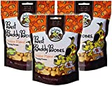 Exclusively Pet 3 Pack of Best Buddy Bones Cheese Flavor Training Treat for Dogs, 5.5 Ounces Per Pack