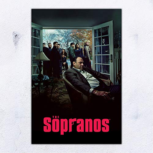 UpdateClassic The Sopranos TV Series Show Poster and Prints Unframed Wall Art Gifts Decor 11x17