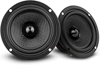 """$49 » DS18 ZXI-354 3.5"""" Full Range Car Audio Speaker Upgrade with Kevlar Cone 120 Watts 4 Ohm Horn Woofer - Pair of 3.5 Speakers..."""