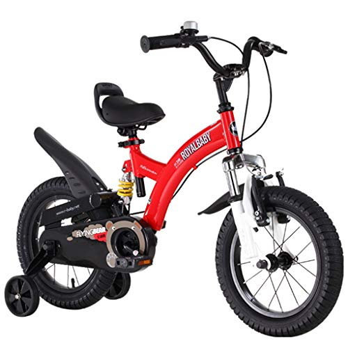 Kids' Road Bicycles Kids' Balance Bikes Children 3-9 Years Old Bicycle Boy and Girl Pedal Balance Car Boy Mountain Bike 12-18 Inch Outdoor Travel Bicycle Give Children The Best Gift
