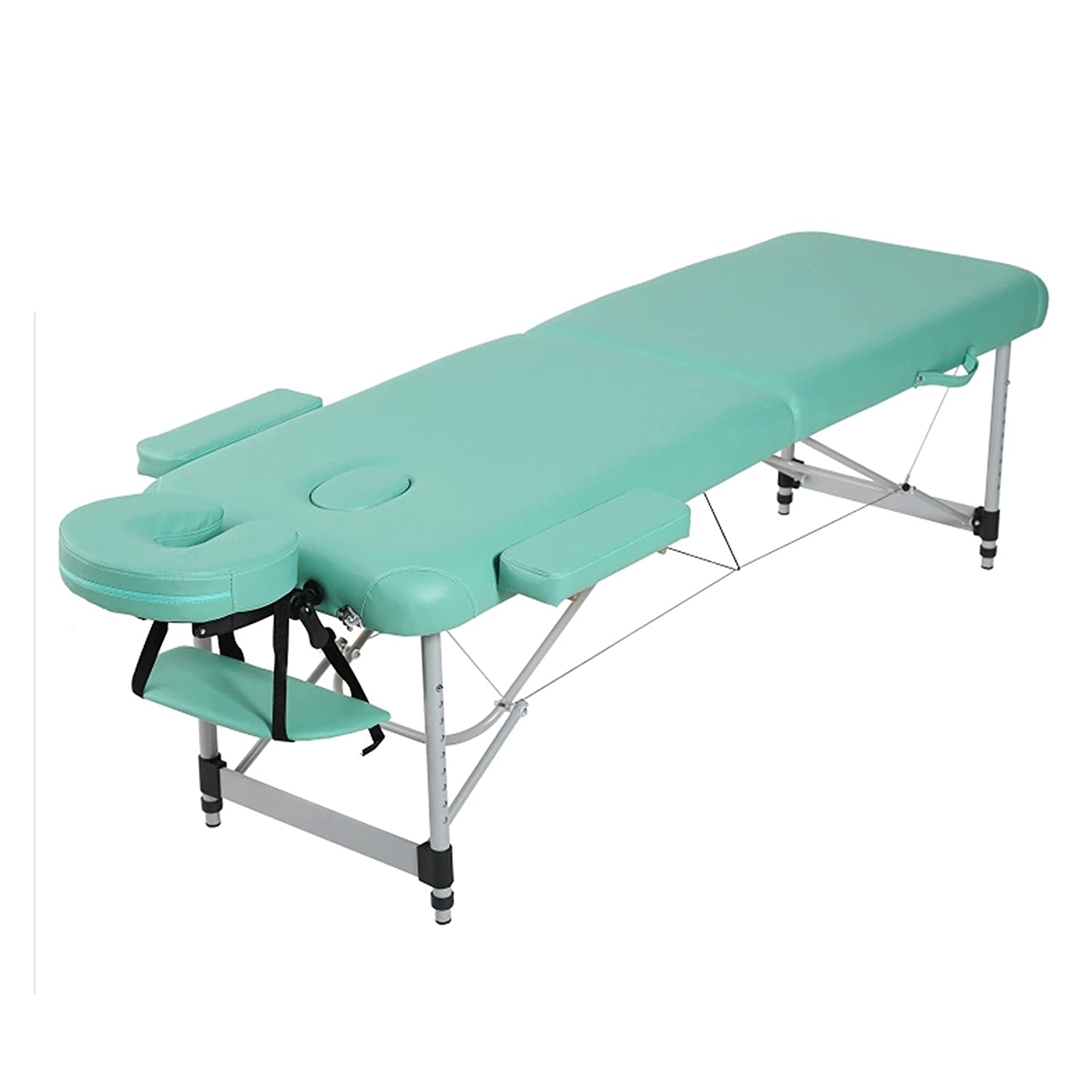 Massage Max 80% OFF Table Portable Outlet sale feature Bed 2 Inch Folding 73.2 Aluminium