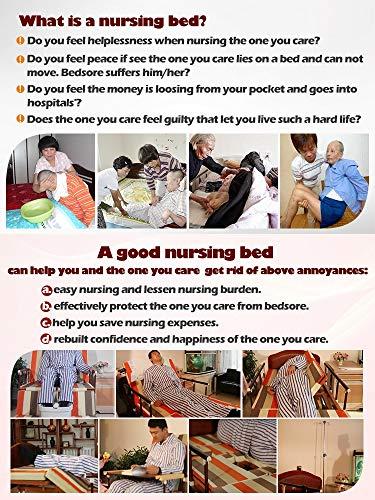 Multi-Function soins infirmiers à domicile Lit d'hôpital pour les patients, entièrement réglable Lit médicalisé électrique