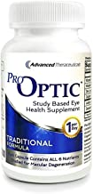 Pro-Optic Traditional AREDS 2 Based Formula (180 Count/One-Per-Day) Contains All 6 Nutrients Studied for Macular Health / ...