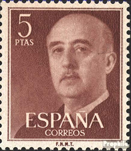 Prophila Collection Spanien 1053c 1955 Francisco Franco (Briefmarken für Sammler)