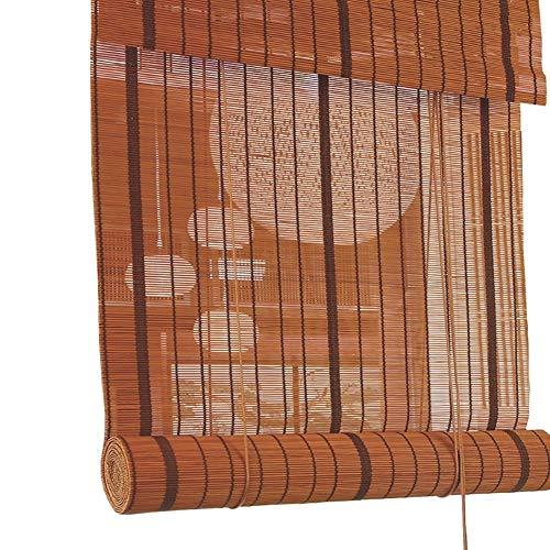Store enrouleur teinté pour patio / ombre extérieure du rouleau, store pour extérieur enroulable pour terrasse, balcon, pergola cour, facile à installer (taille : 90 cm x 220 cm)