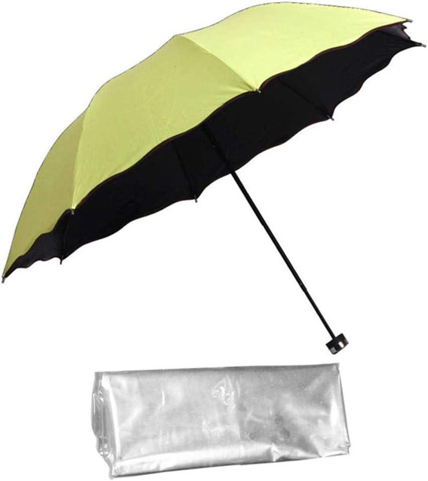 Lichtenstein Macarons Blue Dot Sun/&Rain Automatic Umbrella Windproof Travel UV