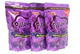 Oishi Pillows Ube-Filled Crackers Party Size Pack of Three 5.29Oz A Pack