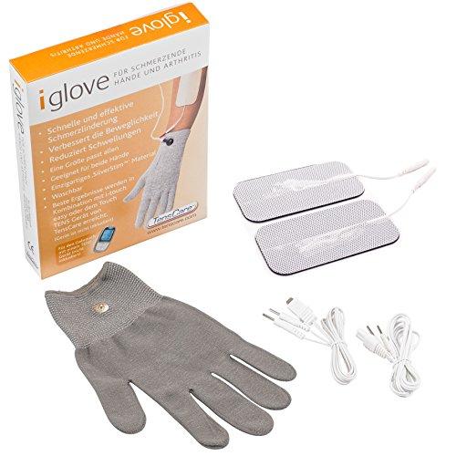 TensCare Handelektrode - groß, Zur Schmerzlinderung Der Hände, zur Verbesserung der Durchblutung und Beweglichkeit (Verwendung mit Tens-Gerät)