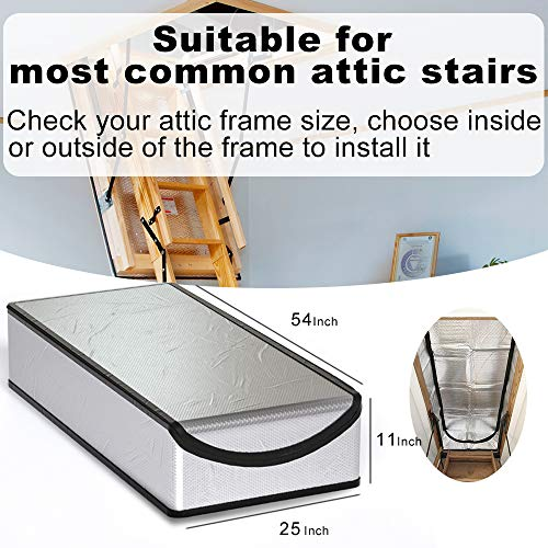 Attic Stairs Insulation Cover 25