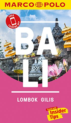 Bali Marco Polo Pocket Travel Guide - with pull out map (Marco Polo Pocket Guides) [Idioma Inglés]
