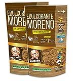 EDULCORANTE MORENO DULCILIGHT |2 ENVASES DE 200gr| 100% Natural granulado de caña con fibra Vegetal|400gr = 4kg de Azucar|Formato Ahorro para Reposteria Premium