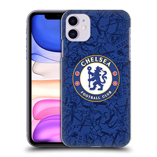 Head Case Designs Offizielle Chelsea Football Club Home 2019/20 Kit Harte Rueckseiten Huelle kompatibel mit Apple iPhone 11