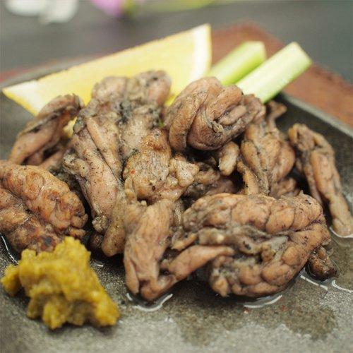 九州産鶏せせり炭火焼 100g×5パック 冷凍真空パック お取り寄せ おつまみ