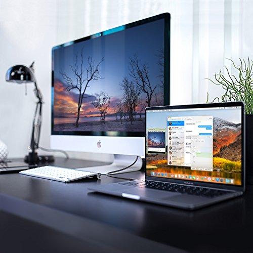 AUKEY Cavo USB C a HDMI 4K 1.8m Cavo HDMI Supporta UHD 1080p per MacBook Pro , Dell XPS 15 , ed altri Dispositivi USB C - Nero