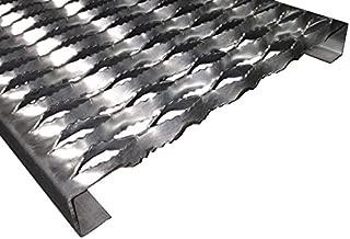 3151514-72 Grip Strut Channel 14 Gauge Carbon Steel 5-Diamond Plank Safety Grating, 72