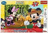 TREFL - Puzzle con Marco Disney de 15 Piezas (31131)