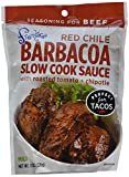 Frontera Red Chile Barbacoa Slow Cook Sauce, 8 Fluid Ounces - Pack of 3