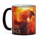Elbenwald Il Signore degli Anelli - Tazza di Balrog e Gandalf - You Shall Not Pass - Ceramica