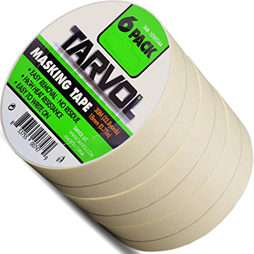 Masking Tape (Huge Pack of 6) Each Roll is
