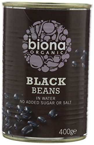 Biona Organic Black Beans 400g (Case of 6)