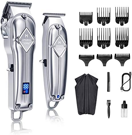 Limural Hair Clippers for Men Cordless Close Cutting T Blade Trimmer Kit Professional Hair Cutting product image