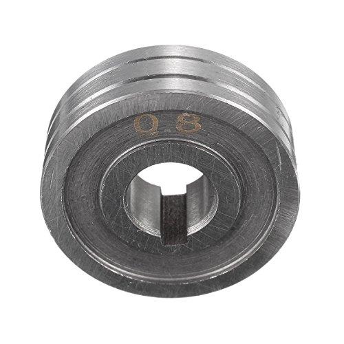 Preisvergleich Produktbild Werse-Schweißer-Drahtvorschub-Antrie... zerteilt 0.8 0.6 Kunrled-Nut