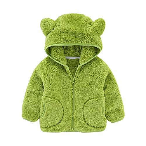 Abrigo para bebé con capucha de manga larga monocolor, resistente al viento, con cremallera, ropa de invierno para niños pequeños y niñas, Nº 13, 130 cm