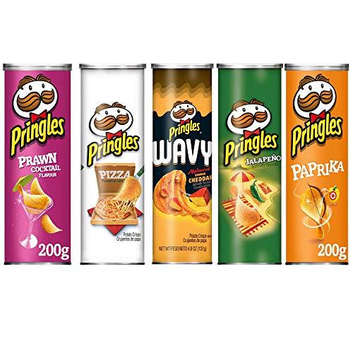 Amerikanische Food Experience, amerikanische Pringles, Chips, 5 Röhre, Geschenkidee
