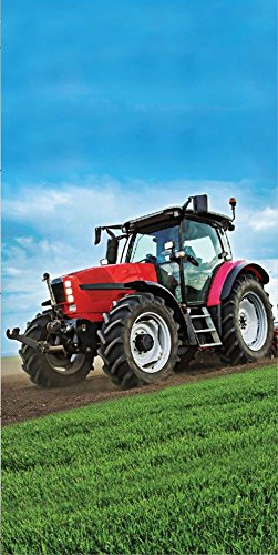 Farming Trecker Traktor Strandtuch Badetuch 70 x 140cm