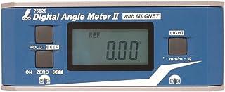 シンワ測定(Shinwa Sokutei) デジタルアングルメーターII 防塵防水 マグネット付き 76826