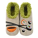 Snoozies Pairables Womens Slippers - House Slippers - Sushi - Small