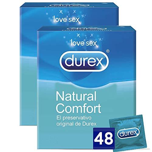 Durex Preservativos Originales Naturales Natural Comfort - 48 Condones