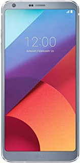 LG G6 H870 Single Sim 32Gb 5.7 Inch Factory Unlocked 4G Lte Smartphone International Version With No Warranty Ice Platinum