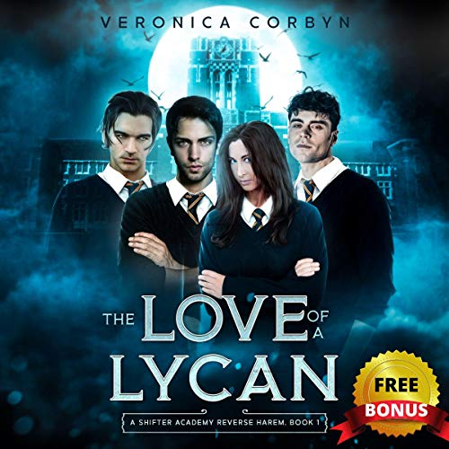 The Love of a Lycan audiobook cover art