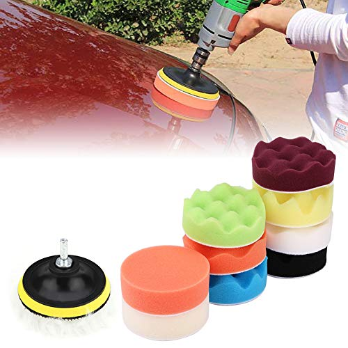 Buffing Pad, Improve Performance Exquisite Craftsmanship Increase Brightness Economical And Practical Polishing Buffing Pad, Driver Truck for Car Sports Car
