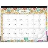 2021-2022 Desk Calendar - 18 Months Desk Calendar Pad 22' x 17' Desk Pad Calendar, Monthly Calendar from July 2021 to December 2022, Colorful Designs