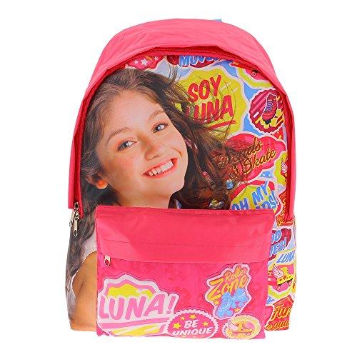Soy Luna - Sac à dos Soy Luna Disney - Rose, Taille Unique