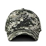 Custom Camo Baseball Cap AWACS E-3 Sentry Embroidery Cotton Hunting Dad Hats for Men & Women Strap Closure Pixel Digital Camo Personalized Text Here
