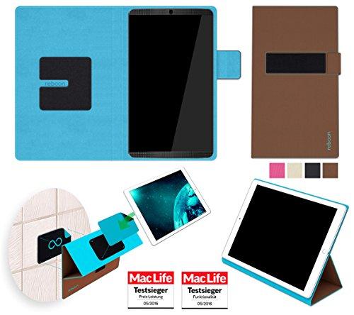 reboon Hülle für Nvidia Shield Tablet K1 Tasche Cover Case Bumper | in Braun | Testsieger