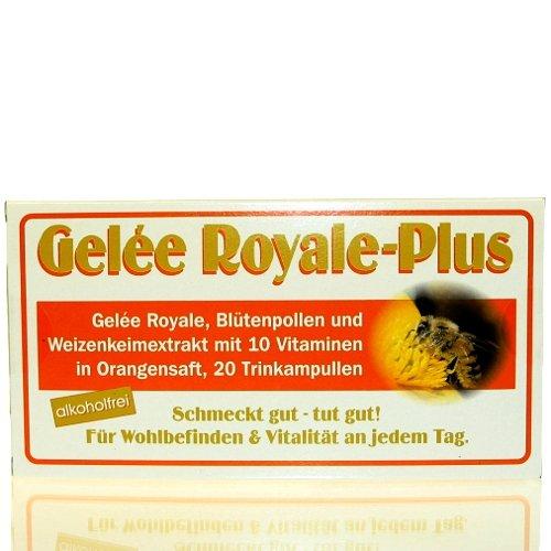 Gelée Royale Plus ohne Alkohol 20 Trinkampullen á 10 ml