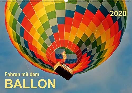 Fahren mit dem Ballon (Wandkalender 2020 DIN A2 quer): Ballonfahren - das atemberaubende Abenteuer zwischen Himmel und Erde. (Monatskalender, 14 Seiten )