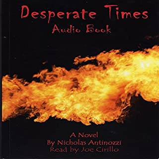 Desperate Times audiobook cover art