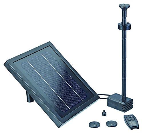 Pontec 43324 Wasserspiele PondoSolar 250 Control | Solarwasserspiel | Set | Solar | Solarpumpe